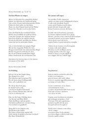 FRANZ SCHUBERT, op. 72, D 774 Auf dem Wasser zu singen ...