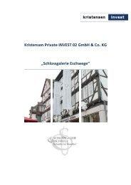 Kristensen Private INVEST 02 GmbH & Co. KG - Beteiligungsfinder.de