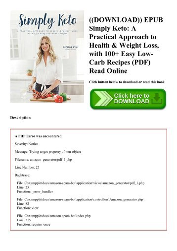 ((DOWNLOAD)) EPUB Simply Keto A Practical Approach to Health & Weight Loss  with 100+ Easy Low-Carb Recipes (PDF) Read Online