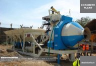 Stationary Concrete Mix Plants - Concrete Mixing Plant Price