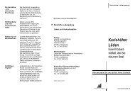 Karlshöher Läden - Karlshöhe Ludwigsburg