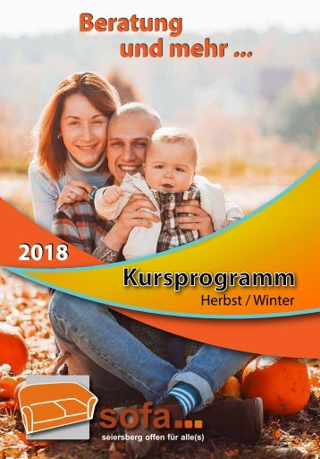 SOFA-Programm Herbst-Winter 2018