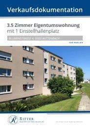 Verkaufsdokumentation Blumenstrasse 4, 9300 Wittenbach