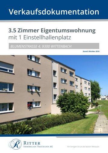 632 VK Doku Blumenstrasse 4, Wittenbach