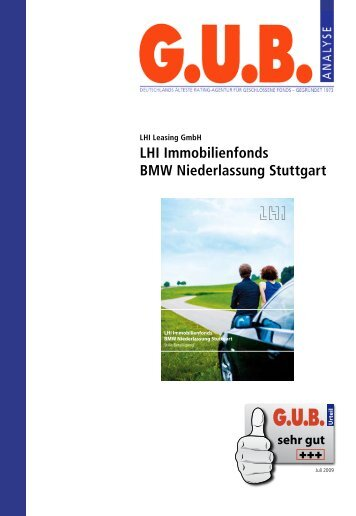 LHI Immobilienfonds BMW Niederlassung Stuttgart