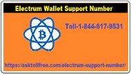 Electrum Support Number