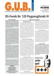 DS-Fonds Nr. 129 Flugzeugfonds IV