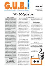 VCH SC Optimizer - G.U.B.-Fondsguide