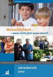 Schwerpunkt: Menschlichkeit - Karlshöhe Ludwigsburg