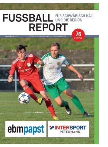 2018/34 - Fußball-Report Schwäbisch Hall 2018