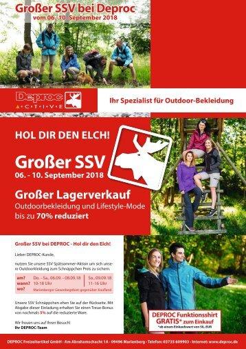 DEPROC Freizeitartikel - 29.08.2018