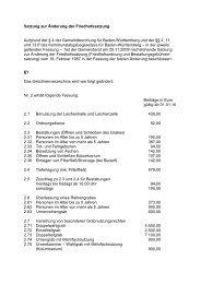 Satzung zur Änderung der Friedhofssatzung 2009_11_25