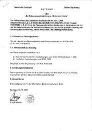 3.Änderung - Gemeinde Karlsbad
