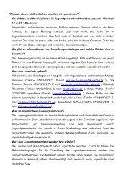 Jugendgemeinderat Werbung - Gemeinde Karlsbad