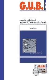 G.U.B. Analyse für den asuco 5 - Asuco Fonds GmbH