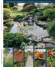 MNLA Buyer's Guide - Michigan Nursery and Landscape Association