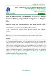 Role of Ephemeroptera, Plecoptera and Trichoptera (Insecta) functional feeding groups in leaf decomposition in Tropical River