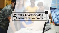 5 Things To Remember When Picking A Website Development Company In Midlothian