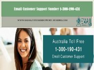 ATT Email Customer Support Number Number 1-300-190-431 | AOL Email Support