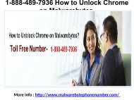 1-888-489-7936 How to Unlock Chrome on Malwarebytes