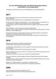2011 - Hertie Stiftung