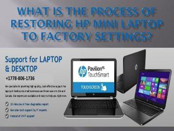 What Is The Process Of Restoring Hp Mini.output (1)