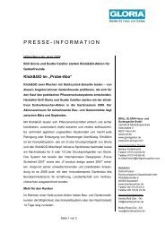 PRESSE-INFORMATION - IVG