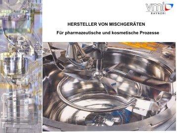 VMI RAYNERI - Broschüre dt.