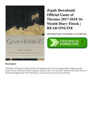 PDF] Download A Game of Thrones A Clash of Kings A Storm of