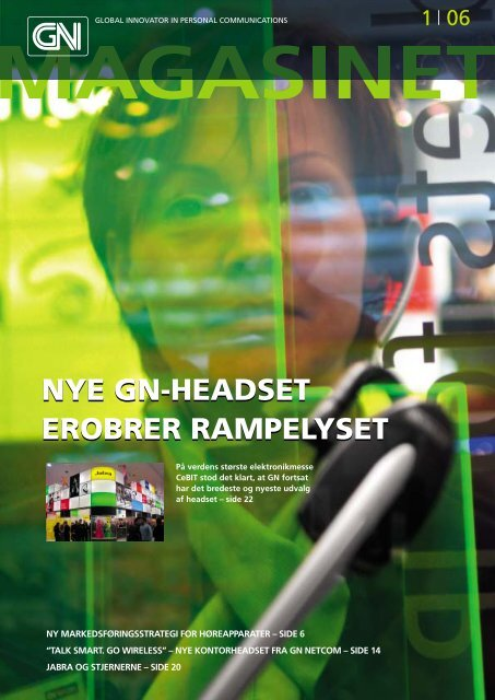 nye gn-headset erobrer rampelyset nye gn-headset ... - GN Store Nord