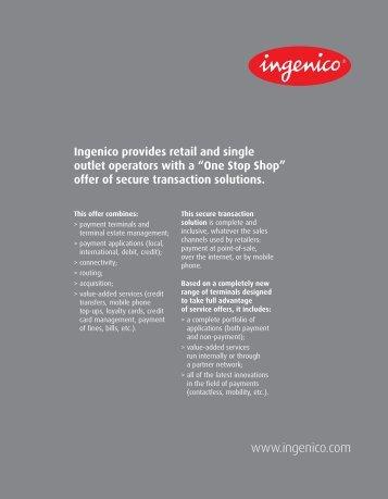 Ingenico leaflet