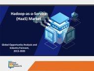 Hadoop-as-a-Service (HaaS) Market