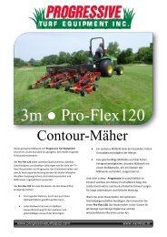 Progressive PRO-FLEX 120 Contour Mower - VANMAC