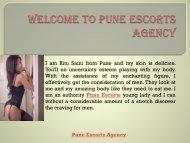 High Profile call girl In Pune Escorts : https://www.swatisethi.com/call-girls/pune
