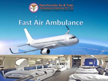 Trusted Quick Air Ambulance Service in Chennai with Doctor