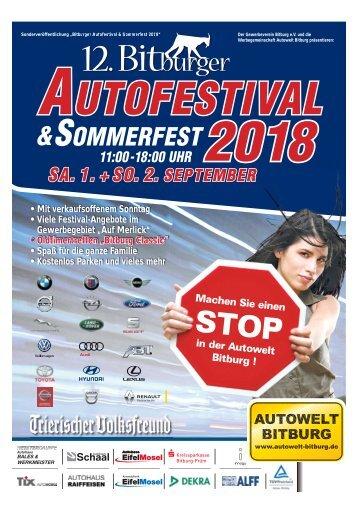 12. Bitburger Autofestival & Sommerfest 2018