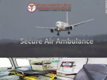 Reliable and Quick Air Ambulance Service in Aurangabad with ICU Setup