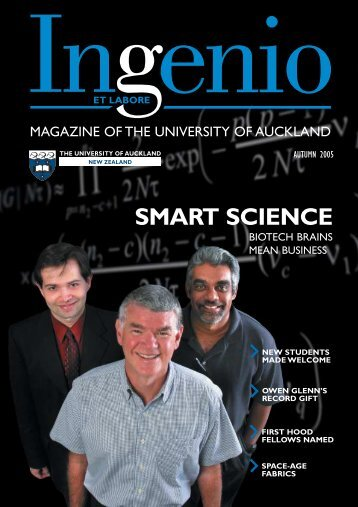 SMART SCIENCE - Alumni and friends- The University of Auckland