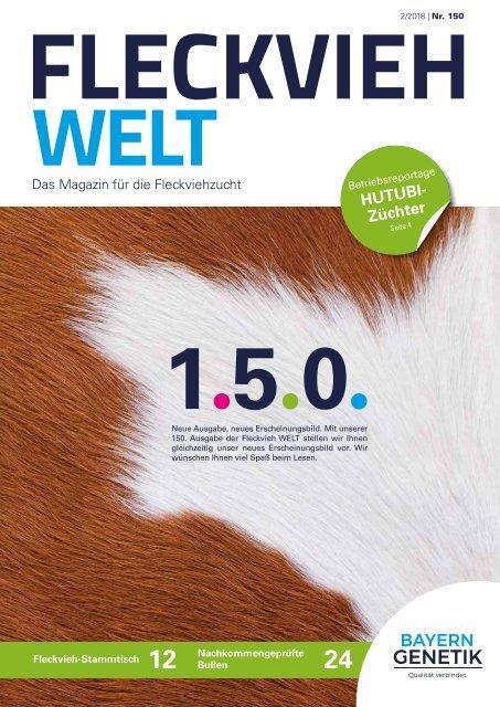 Fleckvieh Welt 150