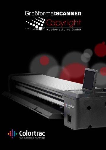 Colortrac Großformat-Scanner Preisliste