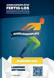 AUSBILDUNGSPLÄTZE - FERTIG - LOS | Göttingen 2019