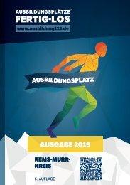 AUSBILDUNGSPLÄTZE - FERTIG - LOS | Rems-Murr 2019