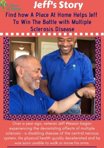 Find how A Place At Home Helps Jeff To Win The Battle with Multiple Sclerosis Disease