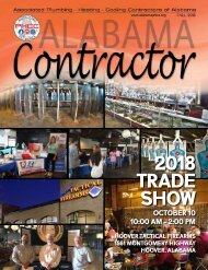 Alabama Contractor Fall 2018