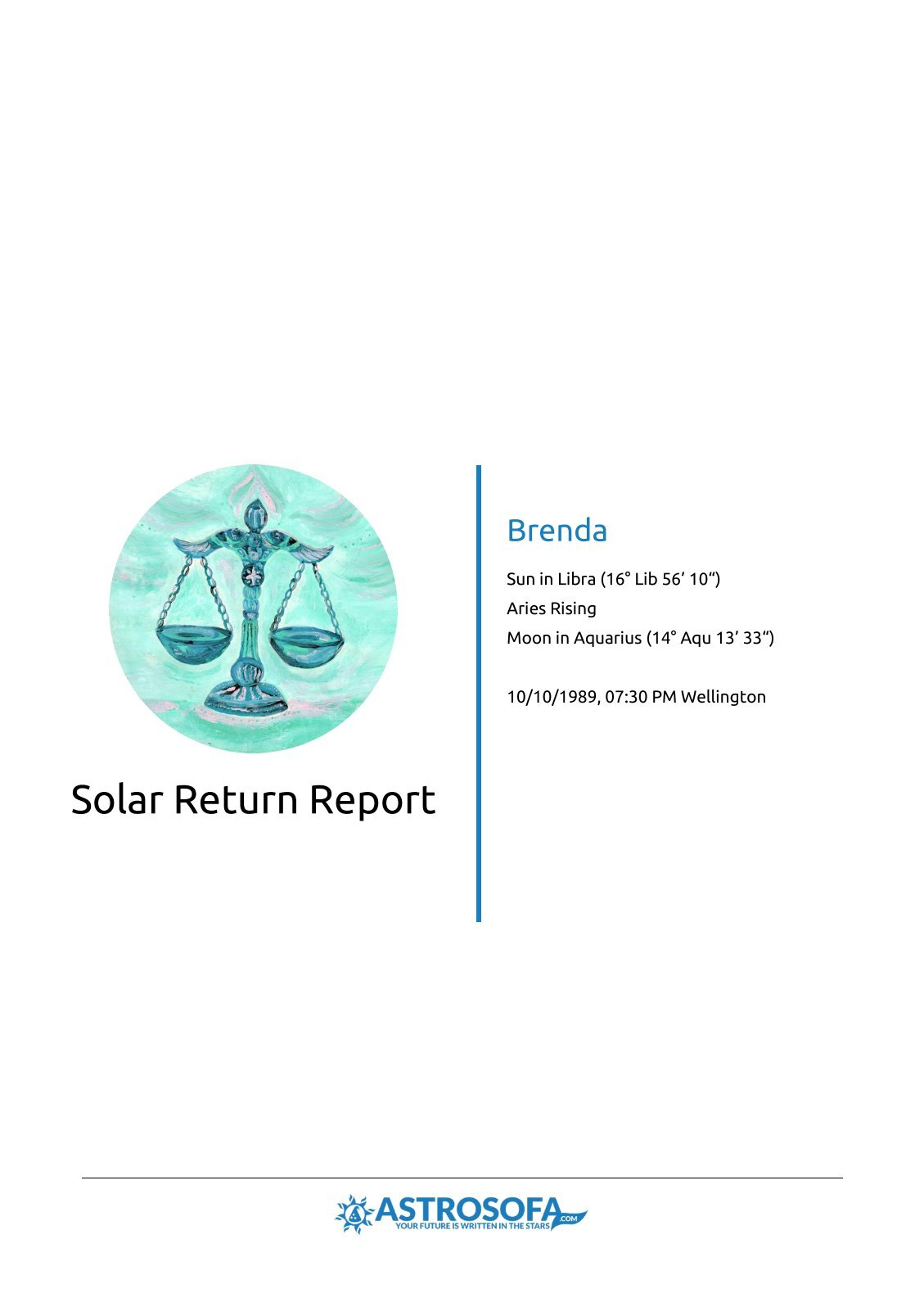 Solar Return Brenda