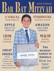 Bar Bat Mitzvah Magazine 2019