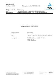 Kraftfahrt GmbH Teilegutachten Nr. 7EUTG034-00 ... - H&R