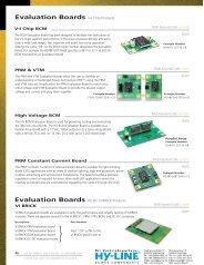 Evaluation Boards - Hy-Line