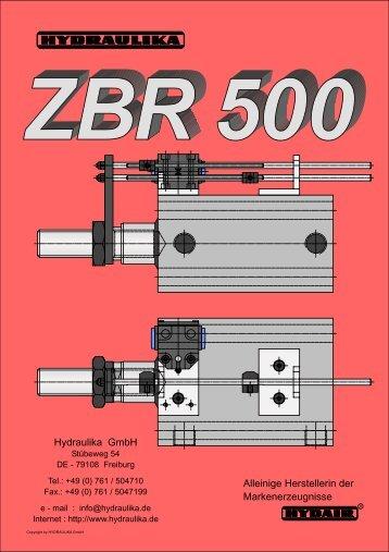 ZBR 500 - Hydraulika GmbH