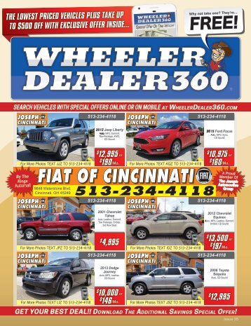 Wheeler Dealer 360 Issue 35, 2018